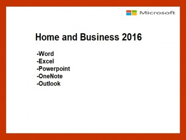 Home and Business 2016