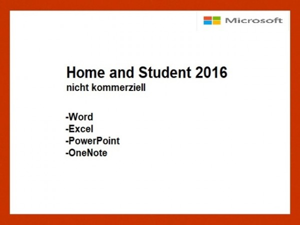 Home and Student 2016