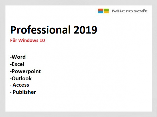 Professional 2019-Neu